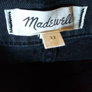 Madewell Shorts - Madewell frayed distressed dark shorts sz 32
